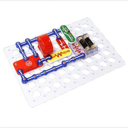 Circuite electronice pentru copii Elenco Snap Circuits Jr. Plus - 110 experimente -