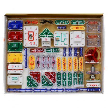 Circuite electronice pentru copii Elenco Snap Circuits Pro - 510 experimente -