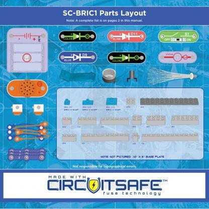 Kit Elenco Snap Circuits Structuri - SCBRIC1 -