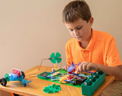 Circuite electronice Elenco Snap Circuits - SCG225 Energie Verde -