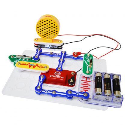 Snap Circuits SCP14 - Sunet și lumină stroboscopică -