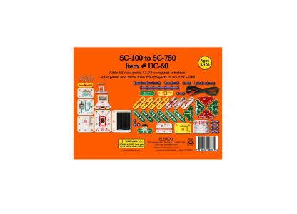Set upgrade Snap Circuits-UC60 (SC100/SC110 to SC760) -