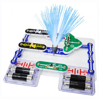 Circuite electronice Elenco Snap Circuits - SCP11 LED Fun -