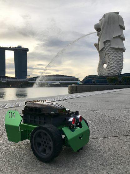 Q-Scout Robobloq - Robot programabil pentru începători -