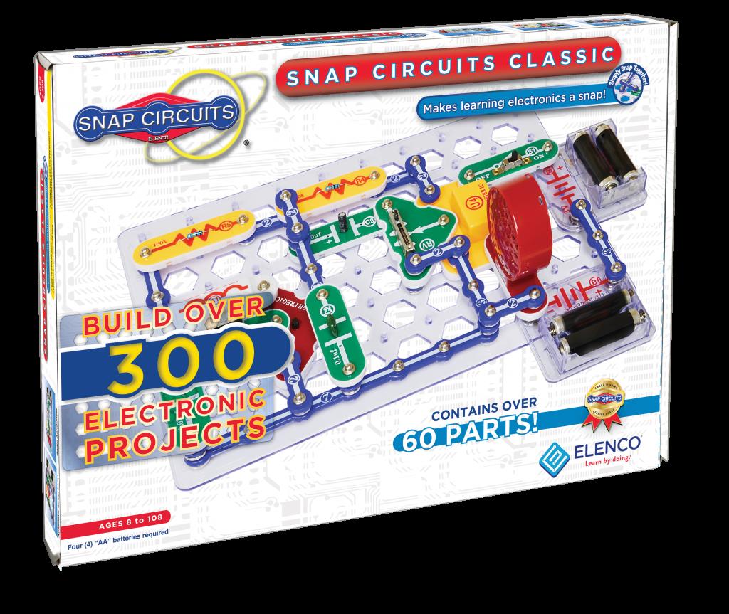 """ELENCO SNAP CIRCUITS CLASIC PLUS SC310 – Proiectele #139 și #140 """"Sonerie cu sensibilitate ridicată"""" - Snap Circuits"""