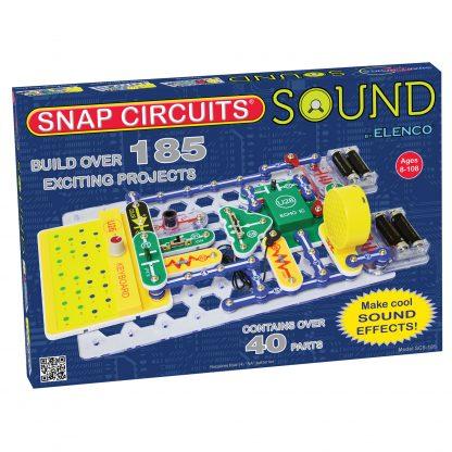 Circuite electronice pentru copii Elenco Snap Circuits – SCS185 Sunete -