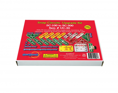 Set upgrade Snap Circuits-UC30 (SC100/SC110 to SC310) -