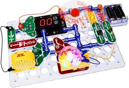 Circuite electronice pentru copii Elenco Snap Circuits Arcade -