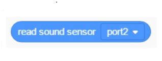 Senzor de sunet Robobloq -
