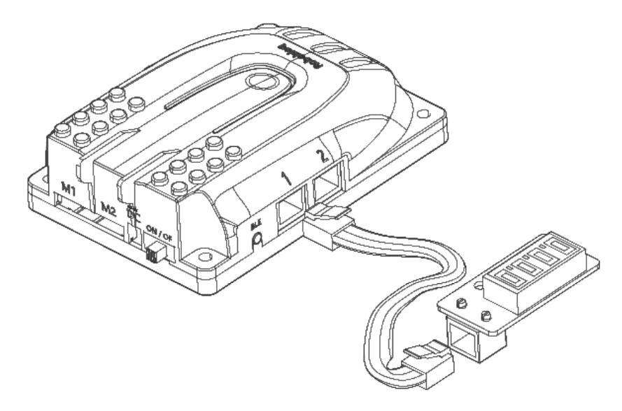 Digital Tube Robobloq - Afișaj digital 4 caractere / 7 segmente -