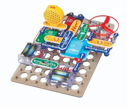 Snap Circuits Discover Coding SCD303 - Set educativ cu circuite electronice programabile pentru copii -