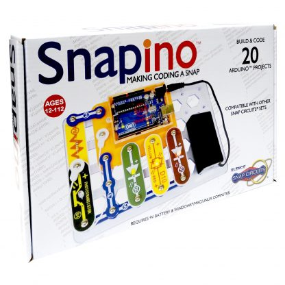 Snapino - Circuite electronice Snap Circuits cu placa ARDUINO -