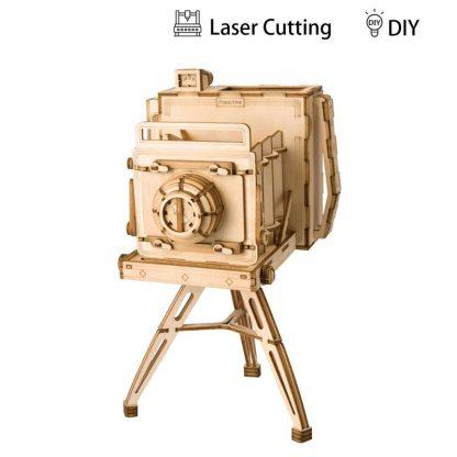 PUZZLE 3D ROLIFE®TG403 CAMERA FOTO CLASICA, LEMN, 140 PIESE -