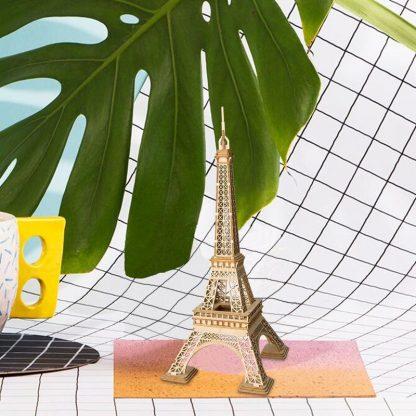 PUZZLE 3D ROLIFE®TG501 TURNUL EIFFEL, LEMN, 122 PIESE -