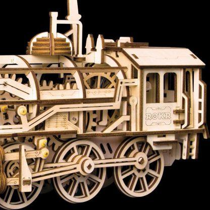 Puzzle 3D Locomotiva ROKR LK701, 349 piese -