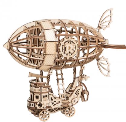 PUZZLE 3D ROLIFE® TG407 DIRIJABIL, LEMN, 176 PIESE -
